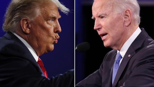 """Las mejores frases del último debate entre Trump y Biden: """"Con Hitler  tuvimos una gran relación"""""""