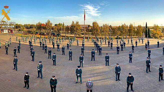 La provincia de Cáceres incorpora a 150 guardias civiles desde el pasado mes de mayo
