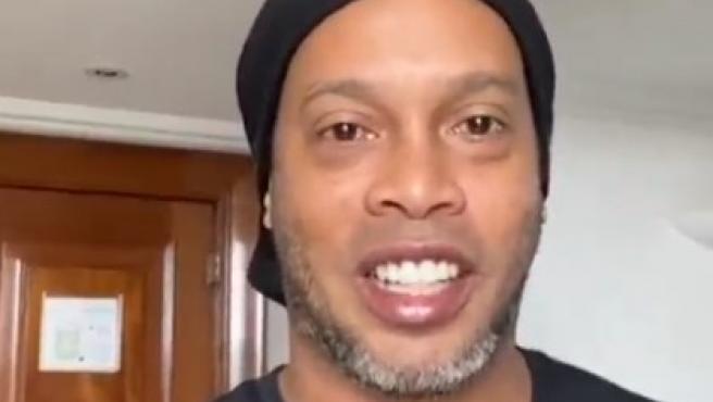 Ronaldinho, en un vídeo en instagram