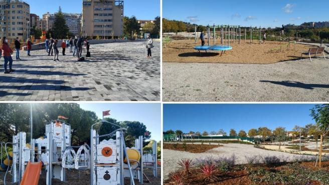 Abierta la ampliación del Parque del Príncipe de Cáceres