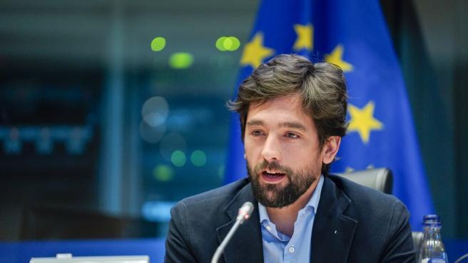 Adrián Vázquez, eurodiputado de Cs.