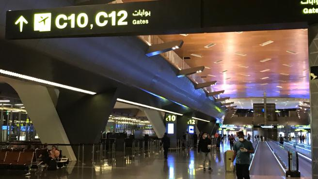 El aeropuerto internacional Hamad, en Doha, Catar, en una imagen de archivo.