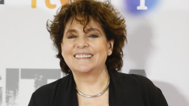 La actriz Charo López durante el 'photocall' de la presentación de la serie 'Fugitiva'.