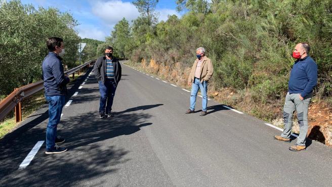 Concluyen las obras de mejora de la carretera de Las Mestas a La Alberca