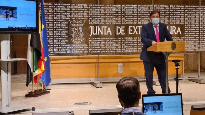 El presidente de la Junta, Guillermo Fernández Vara