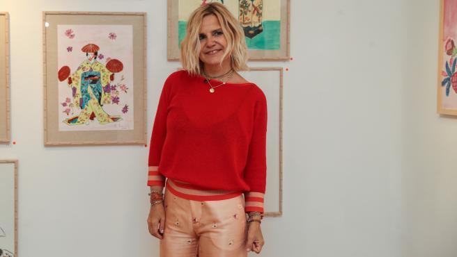 Eugenia Martínez de Irujo, en la inauguración de El arte de querer.