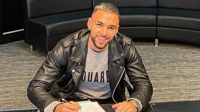 El nuevo futbolista del Newcastle.