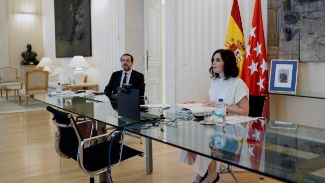 Isabel Díaz Ayuso, en la Conferencia de Presidentes