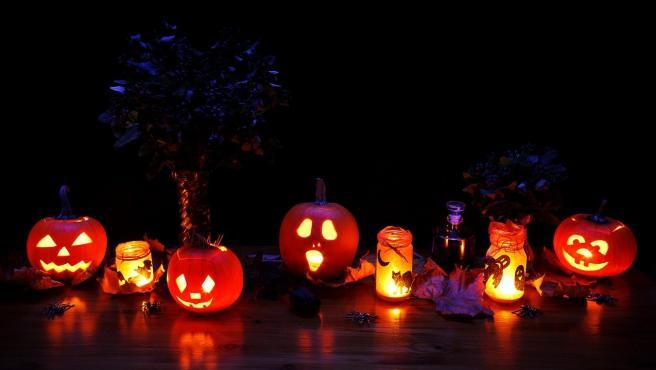 Las calabazas, un elemento imprescindible en la decoración de Halloween pero no el único.