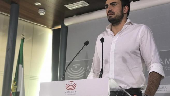David Salazar (Cs) confía en que la crisis abierta en Extremadura se solucione 'de la mejor manera posible'