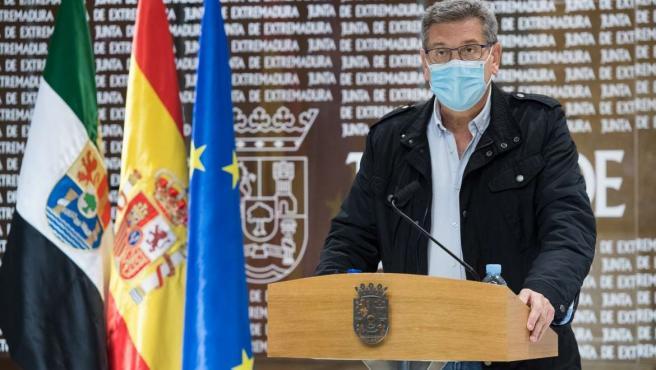 El secretario general de Empleo, Javier Luna, valora los datos de la EPA en rueda de prensa