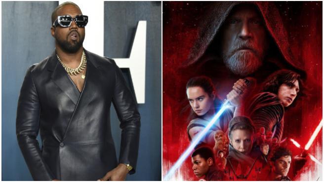 Kanye West critica las secuelas de Disney de 'Star Wars' y defiende sus precuelas