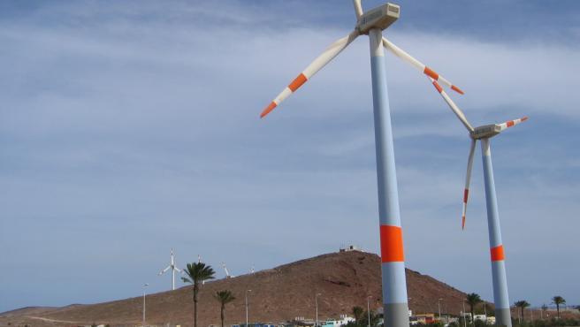 Los parques eólicos de Endesa en Canarias producen en los primeros nueve meses energía para 47.700 hogares