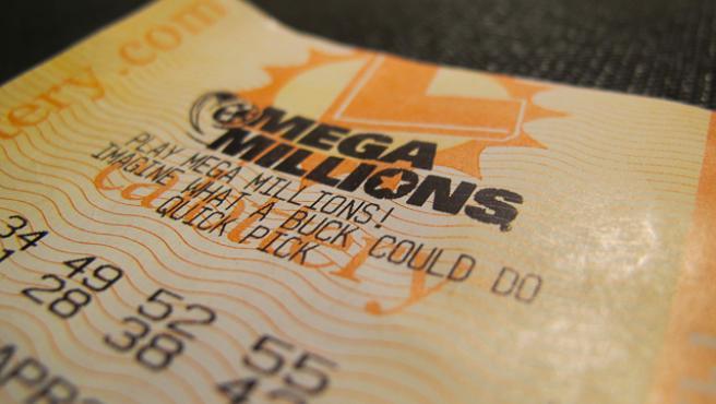Un billete de la lotería estadounidense Mega Millions, en una imagen de archivo.