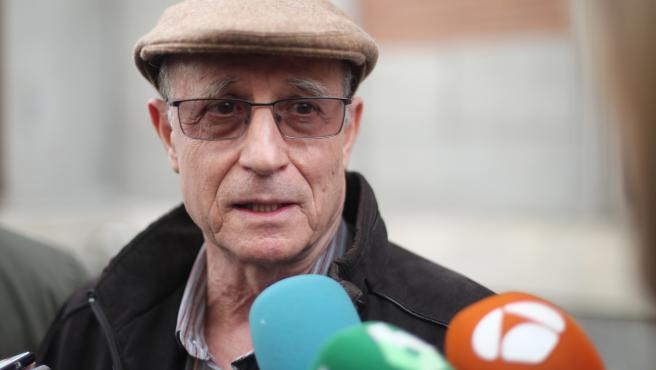 Ángel Hernández, el hombre que ayudó a morir a su mujer, enferma de esclerosis múltiple.