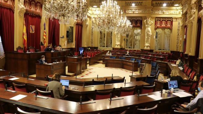 Comisión de Salud en el Parlament.