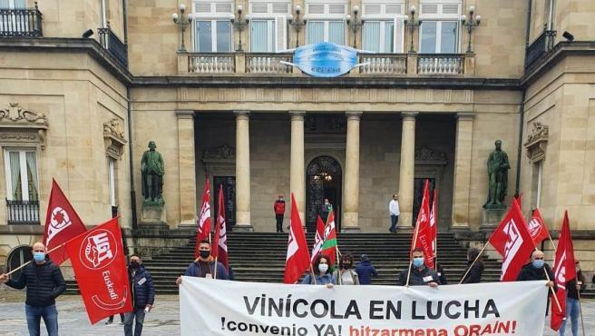 Concentración de sindicatos del sector vinícola