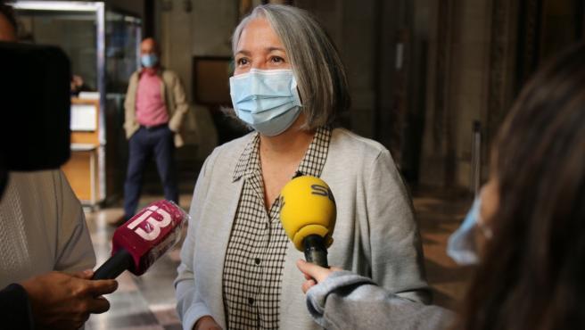 La consellera de Presidencia del Consell de Mallorca, Teresa Suárez.