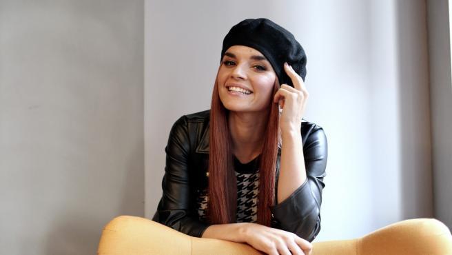 La cantante Melody.