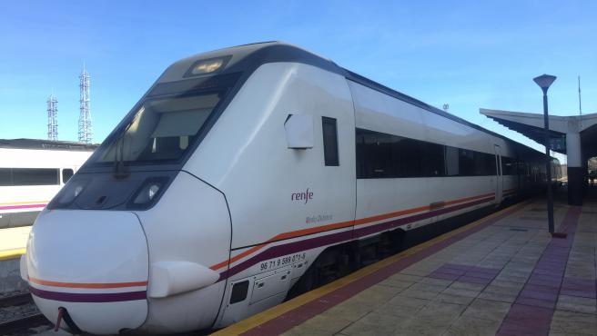Tren en Mérida