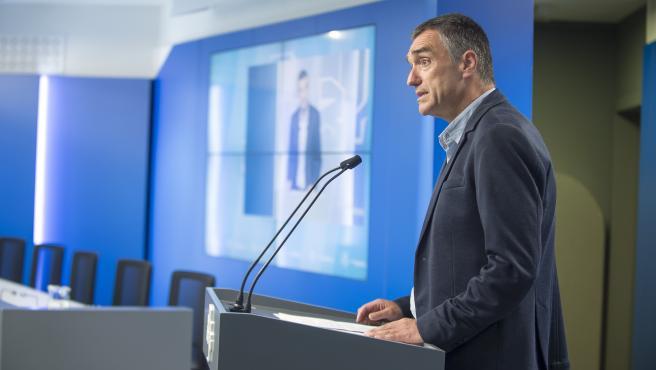 Jonan Fernández, coordinador de la comisión técnica para el control de la pandemia en Euskadi