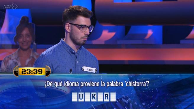 Rubén, en '¡Ahora caigo!'.