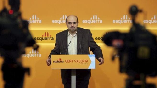 Xavier Vendrell, entonces director de campaña de ERC, en una imagen de 2010.