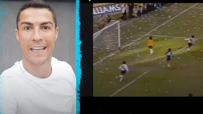 Cristiano Ronaldo felicita a Maradona
