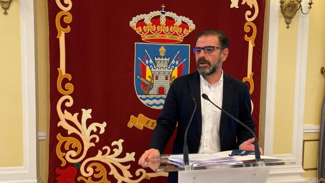 El alcalde de Ferrol, Ángel Mato.