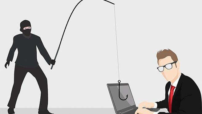 El phishing es una de las estafas más habituales en Internet.