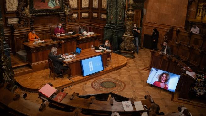 El pleno del Ayuntamiento de Barcelona