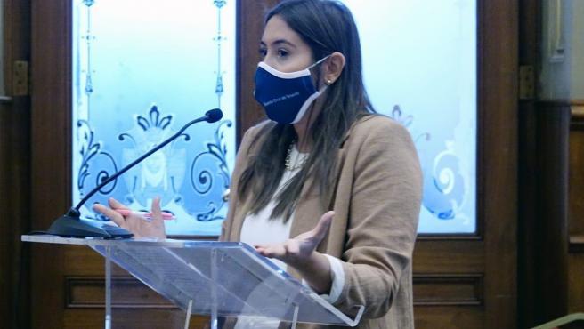 La concejal de Acción Social del Ayuntamiento de Santa Cruz de Tenerife, Rosario González