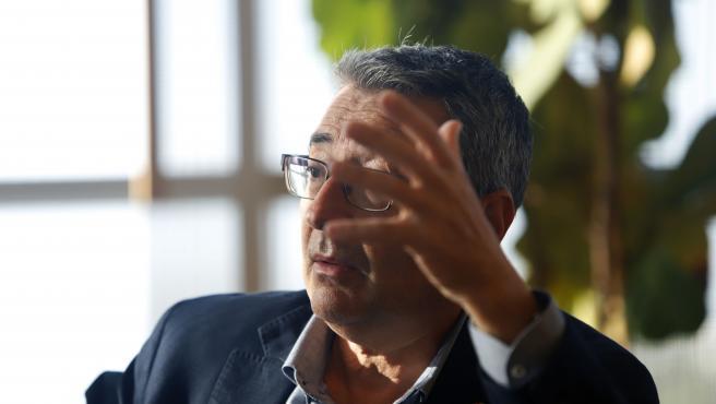 MLG 01-10-2020.-José Francisco Salado Escaño, Presidente de la Diputación Provincial de Málaga.-ÁLEX ZEA.
