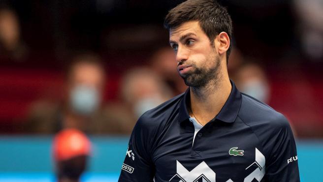 Novak Djokovic, tras una derrota