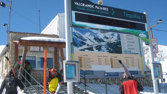 Estación Invernal Valgrande-Pajares en una imagen de archivo.