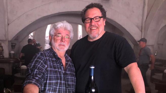 Sí, incluso George Lucas es fan de 'The Mandalorian'