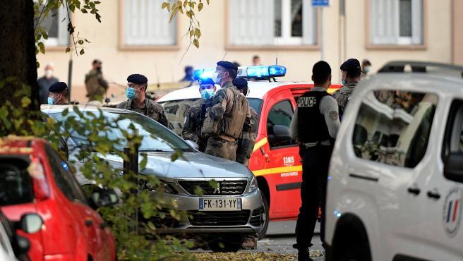 Lyon es el escenario de un nuevo ataque islamista.