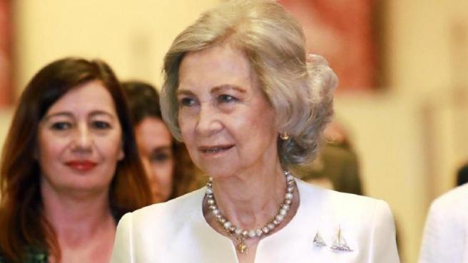Imagen de archivo de la reina Sofía.