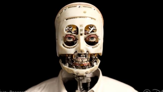 Imagen del nuevo robot humanoide presentado por Disney.