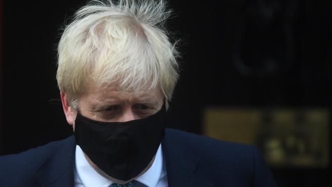 Boris Johnson, en cuarentena tras estar contacto con un contagiado de  Covid-19