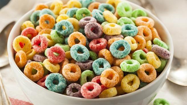 Algunos cereales azucarados contienen grandes cantidades de glucosas y azúcares refinados.