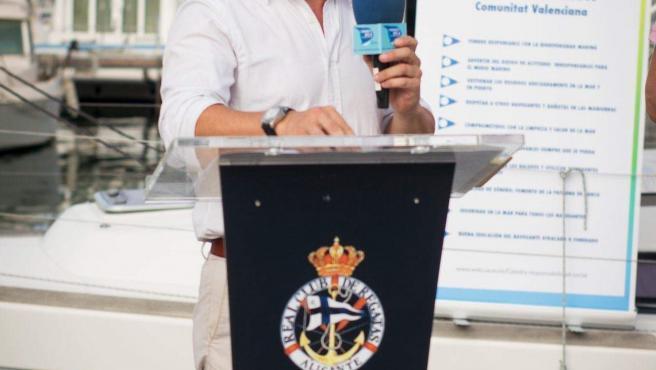 El director de la Cátedra Interuniversitària d'Economia Blava de la Conselleria d'Economia Sostenible de la Generalitat Valenciana, Fernando de Rojas