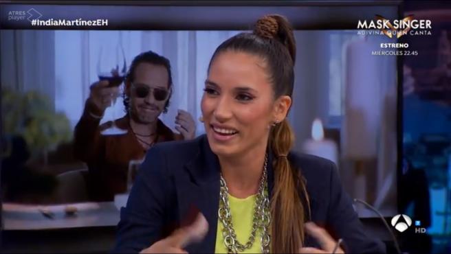 India Martínez, en 'El hormiguero'.