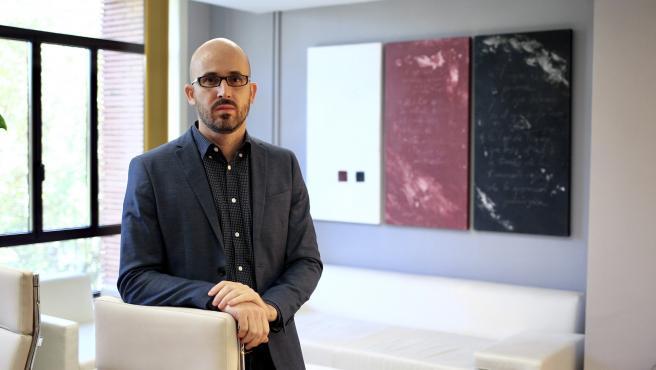 El secretario de Estado de Derechos Sociales, Nacho Álvarez, en su despacho.