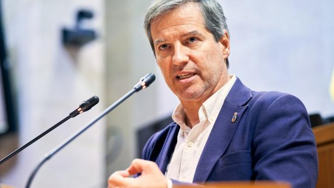 Pérez Calvo: 'Si Cs pide apoyo de la oposición donde gobierna, es lógico que en Aragón tratemos de colaborar con Lambán'.