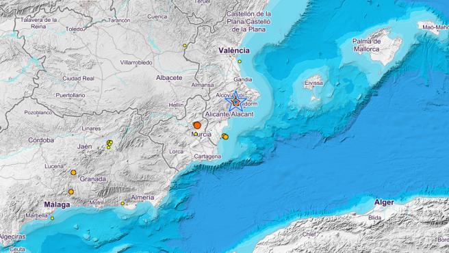 Terremoto en Alicante
