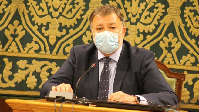 El alcalde de Cuenca, Darío Dolz.