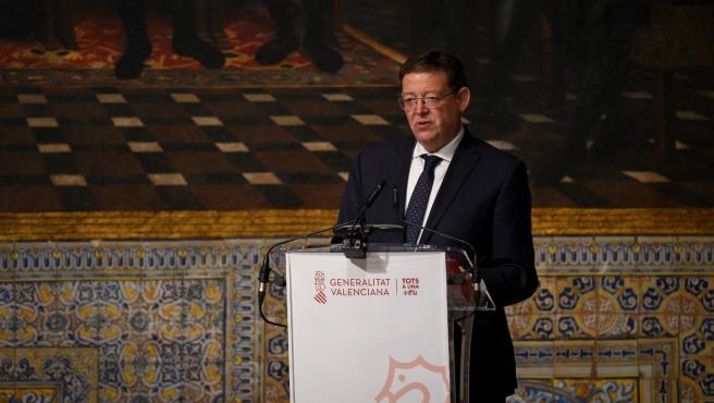 El 'president' de la Generalitat, Ximo Puig,