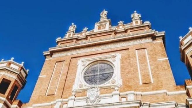 Exterior del Seminari Major Metropolità La Immaculada a Montcada (València)