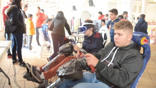 Feria de los videojuegos de Palos de la Frontera (Huelva)